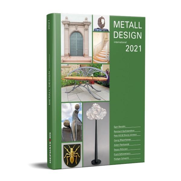 Buch: Metall Design international 2021