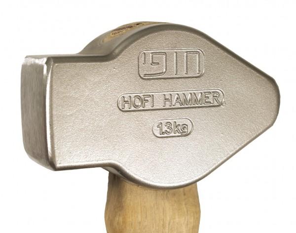 Hofi-Hammer aus hochfestem Werkzeugstahl 1,3 kg