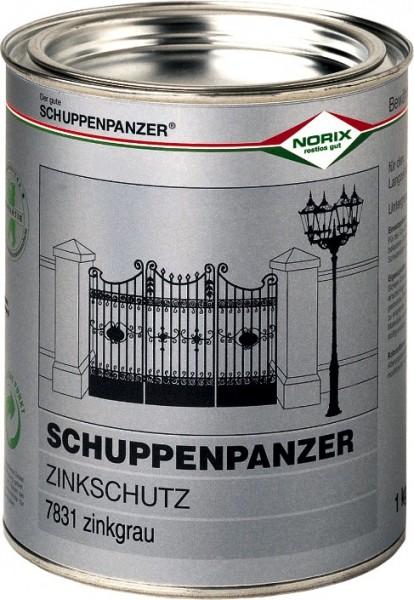 Schuppenpanzer Zinkschutz