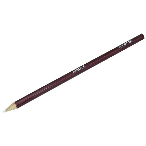 Holzmantelgriffel Stift weiß, einzeln