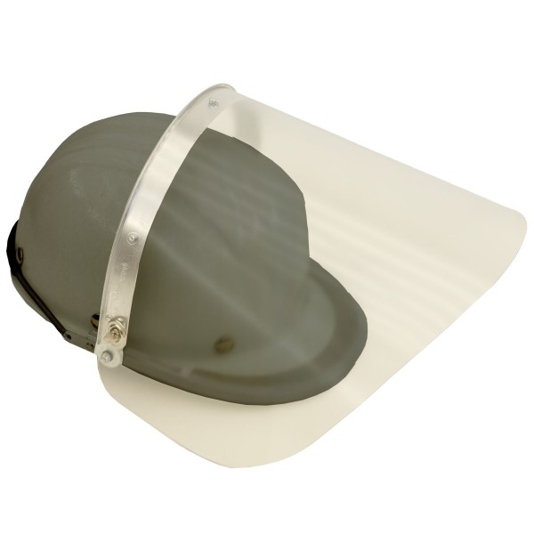 Schutzscheibe für Hitzeschutzhelm