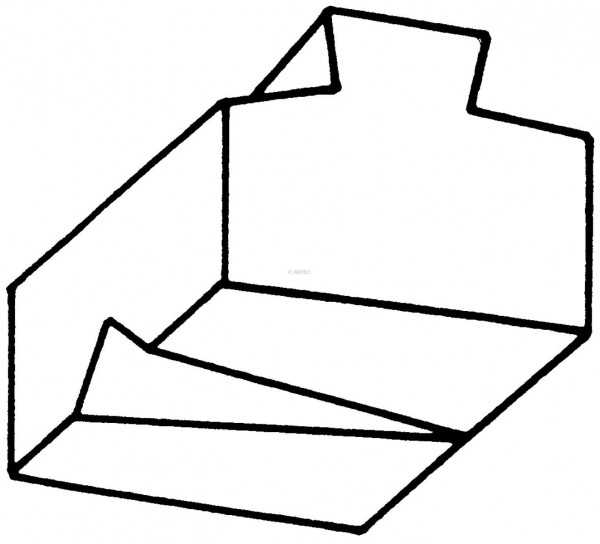 Eggenzinken-Schärfgesenk Nr. 2214A