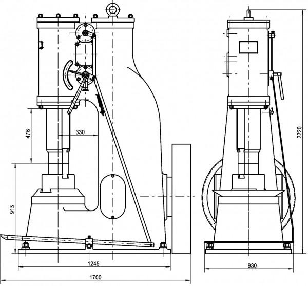 AN-75 L Luftschmiedehammer