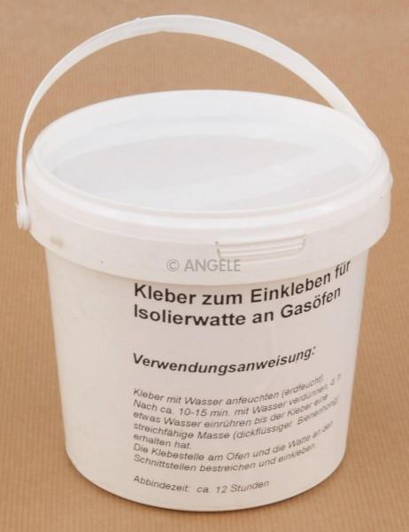 Kleber für Isolierwatte