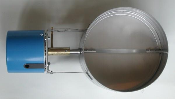 elektrische Rauchgasklappe 180