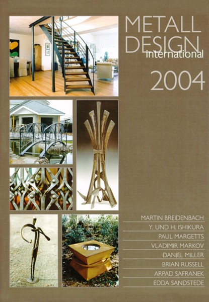 Buch: Metall Design international 2004