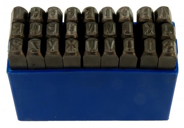 Schlagstempelsatz A-Z 10 mm