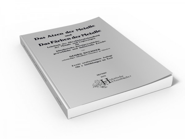Buch: Das Ätzen der Metalle (1920)