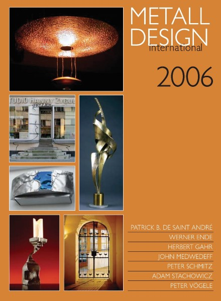 Buch: Metall Design international 2006