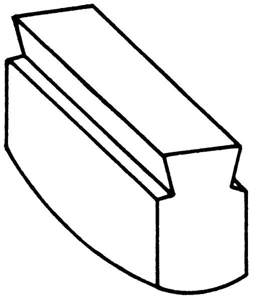 Recksattel konvex Nr. 2205B