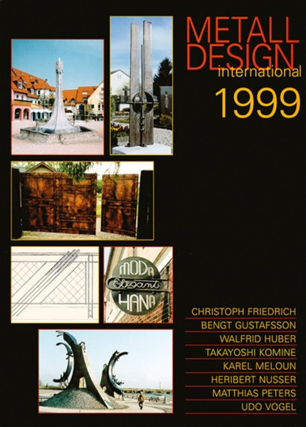 Buch: Metall Design international 1999
