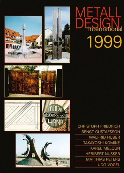 Buch: Metall Design international 1999