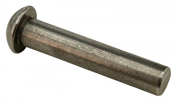 Halbrundniete 5 x 10 mm