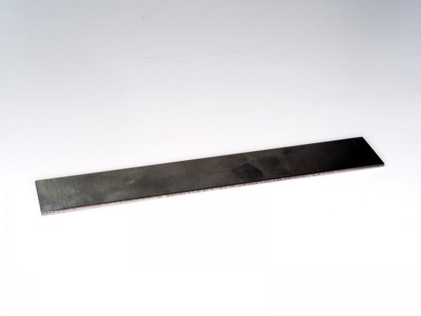 Nickelstahl 1.5634 / 75Ni8, Streifen kurz 180x30x2 mm