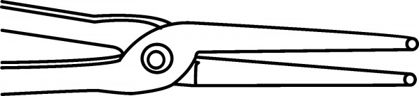 Rollzange, gross, TC-306/BTC-1123