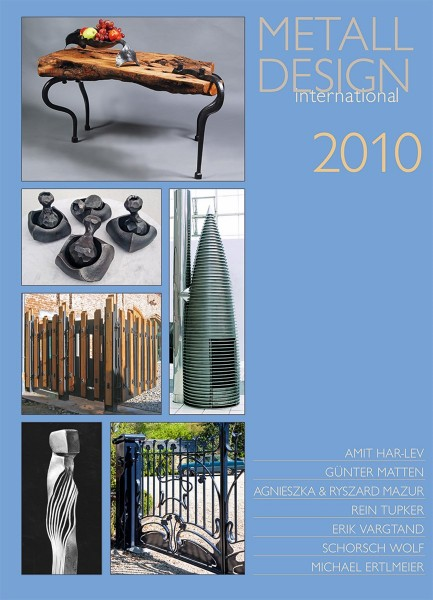 Buch: Metall Design international 2010