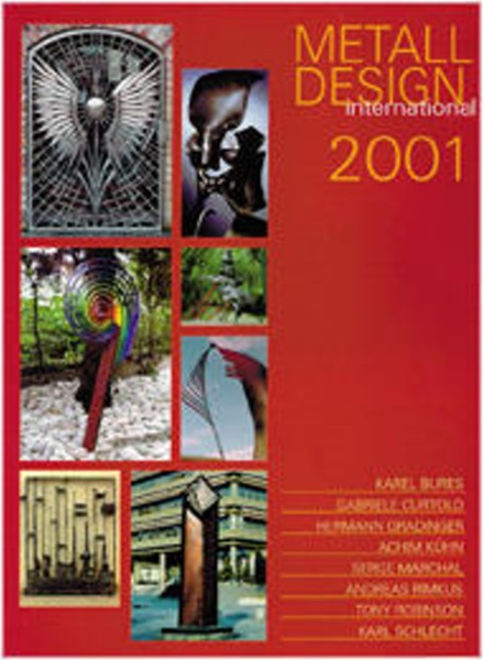 Buch: Metall Design international 2001