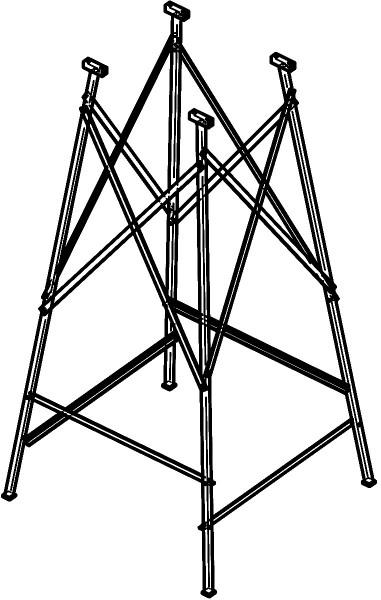Bodengestell für Z 501-15