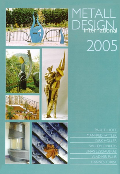 Buch: Metall Design international 2005