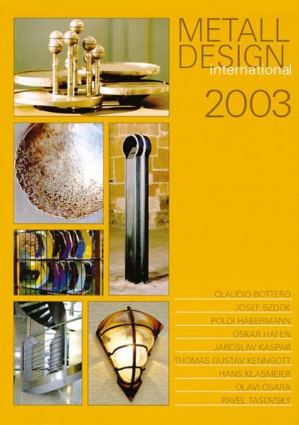 Buch: Metall Design international 2003