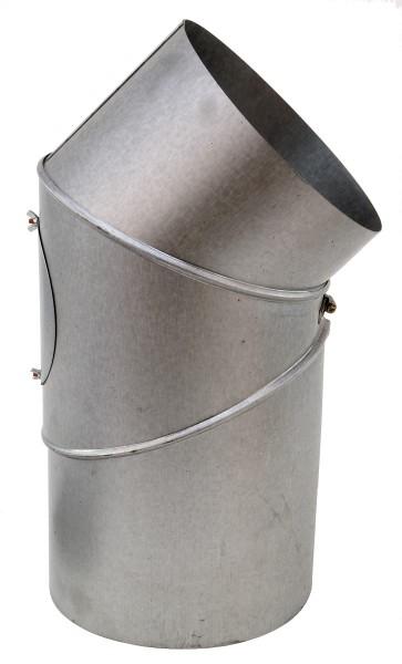 Rohrbogen, ø 180 mm, 45°