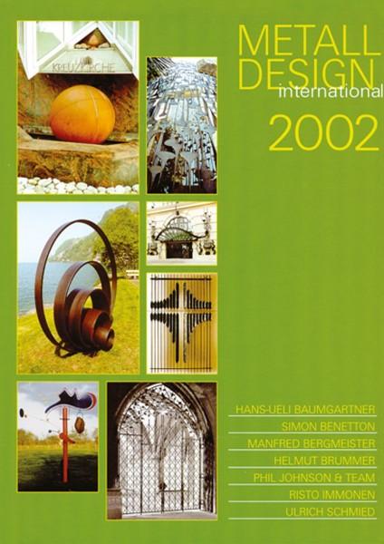 Buch: Metall Design international 2002