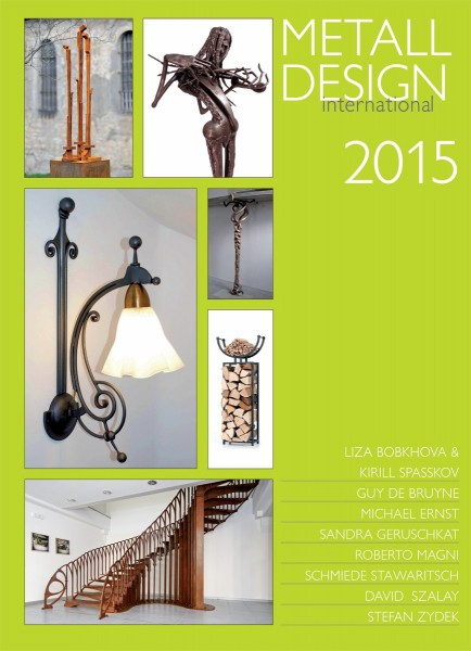 Buch: Metall Design international 2015