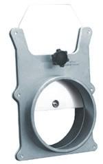 Absperrschieber aus Aluminium ø 100 mm