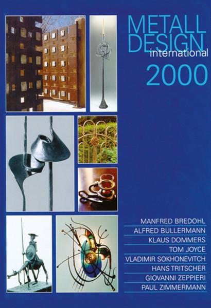 Buch: Metall Design international 2000