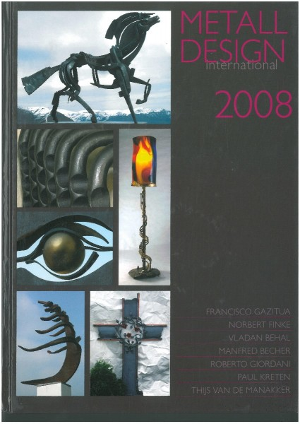 Buch: Metall Design international 2008