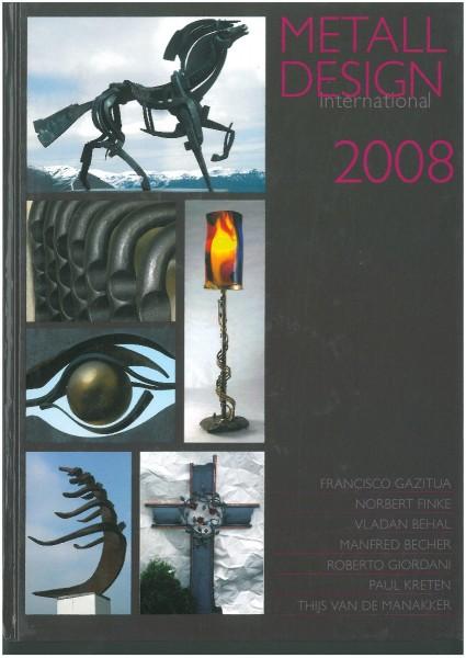 Buch: Metall Design international 2008