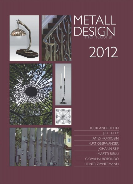 Buch: Metall Design international 2012