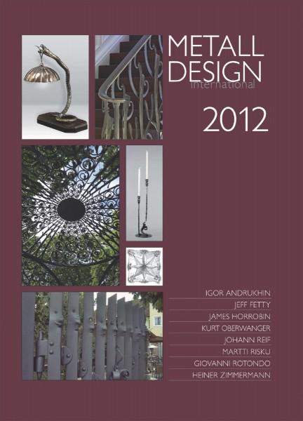 Buch: Metall Design international 2012