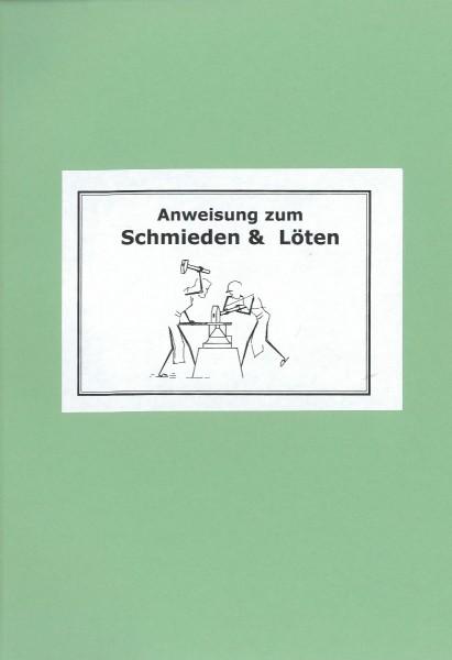Buch: Anweisung zum Schmieden und Löten