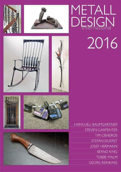 Buch: Metall Design international 2016