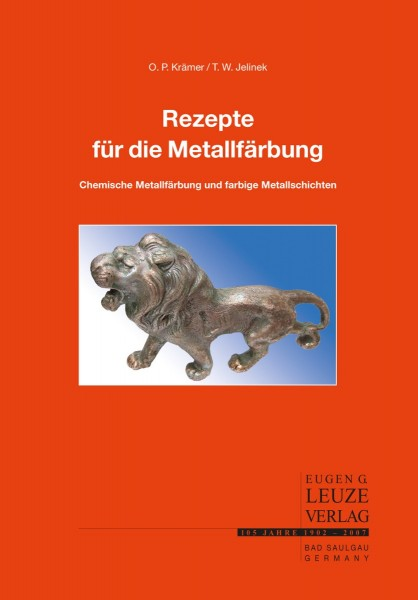 Buch: Rezepte für die Metallfärbung
