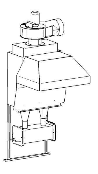 Kompakt-Zyklon-Russabscheider Typ Z 302