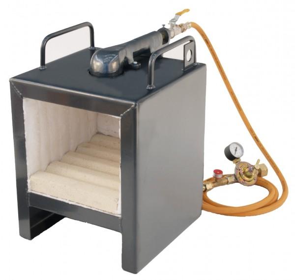 PS 230 Gas-Schmiedeofen ohne Türe, mit Piezozünder