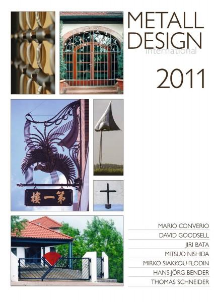 Buch: Metall Design international 2011