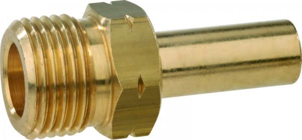 Verbindungsstück AG GF x RST 12 mm