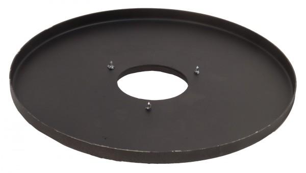 Blechseitenteil, rund, mit Öffnung