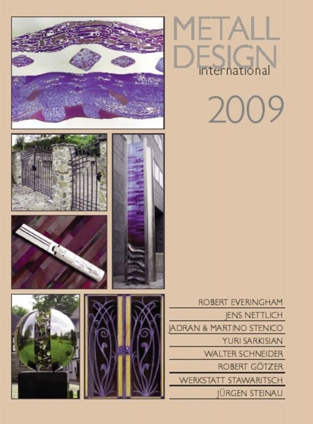 Buch: Metall Design international 2009