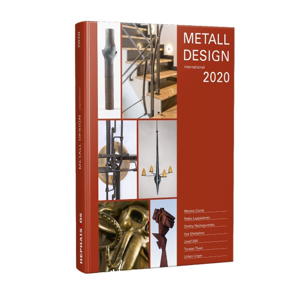 Buch: Metall Design international 2020