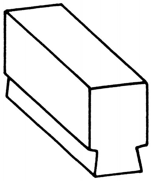 Flachgesenk Nr. 2200B
