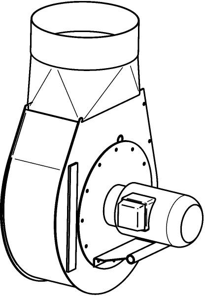 Rauchabzugsventilator G-15.3 (400V)